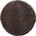 1786 Nova Constellatio Copper, Pointed Rays -- Environmental Damage -- PCGS Genuine. Poor / Fair Details. Crosby 1-A, W-...