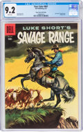 Silver Age (1956-1969):Western, Four Color #807 SavageRange - Mile High Pedigree (Dell, 1957) CGC NM- 9.2 White pages....