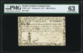 Colonial Notes:South Carolina, South Carolina February 8, 1779 $90 (£146.5s.0d) PMG Choice Uncirculated 63.. ...