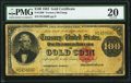 Large Size:Gold Certificates, Fr. 1209 $100 1882 Gold Certificate PMG Very Fine 20.. ...