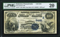National Bank Notes:Pennsylvania, Emlenton, PA - $10 1882 Value Back Fr. 577 The Farmers NB Ch. # (E)5481 PMG Very Fine 20.. ...