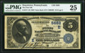 National Bank Notes:Pennsylvania, Stoystown, PA - $5 1882 Value Back Fr. 574 The First NB Ch. # (E)5682 PMG Very Fine 25.. ...