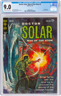Silver Age (1956-1969):Superhero, Doctor Solar, Man of the Atom #3 (Gold Key, 1963) CGC VF/NM 9.0 Off-white to white pages....