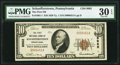 National Bank Notes:Pennsylvania, Schaefferstown, PA - $10 1929 Ty. 1 The First NB Ch. # 8962 PMG Very Fine 30 EPQ.. ...