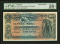 Ethiopia Bank of Abyssinia 100 Thalers ND (1915-1929) Pick 4s Specimen PMG Choice About Unc 58 EPQ