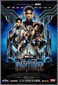 "Movie Posters:Action, Black Panther (Walt Disney Studios, 2018). Rolled, Very Fine-.Printer's Proof French Grande (46.75"" X 69"") DS Advanc..."