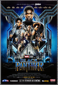 """Black Panther (Walt Disney Studios, 2018). Rolled, Very Fine-. Printer's Proof French Grande (46.75"""" X 69"""") DS..."""