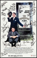 "Movie Posters:Comedy, The Producers (Saint James Theatre, 2001). Very Fine. AutographedTheatrical Window Card (14"" X 22"") Norma Jean Roy Photogra..."
