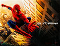"Movie Posters:Action, Spider-Man (Columbia, 2002). Rolled, Fine/Very Fine. Horizontal BusShelter (59.75"" X 46"") SS Advance. Action.. ..."