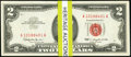 Small Size:Legal Tender Notes, Fr. 1513 $2 1963 Legal Tender Notes. Pack of 100 Consecutive Examples. Choice Crisp Uncirculated or Better.. ... (Total: 100 notes)
