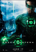 "Movie Posters:Science Fiction, Green Lantern (Warner Brothers, 2011). Rolled, Very Fine-. BusShelters (4) (47"" X 68"") DS Advance, 4 Styles. Science Fictio...(Total: 4 Items)"