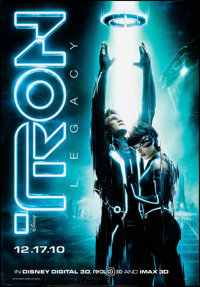 """Tron: Legacy & Other Lot (Walt Disney Pictures, 2010). Rolled, Very Fine. Bus Shelters (2) (47.75"""" X 68.5""""..."""