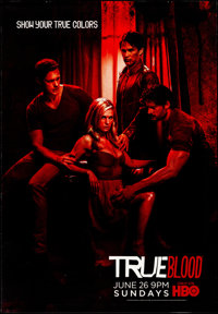 "True Blood (HBO, 2011). Rolled, Very Fine-. Bus Shelters (2) (47.25"" X 68.5"" & 47.5"" X 68.5"") SS..."