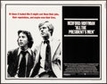 """Movie Posters:Drama, All the President's Men (Warner Brothers, 1976). Rolled, VeryFine-. Half Sheet (22"""" X 28""""). Drama.. ..."""