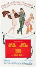 "Movie Posters:Comedy, Cactus Flower (Columbia, 1969). Folded, Very Fine. Three Sheet (41""X 77""). Robert McGinnis Artwork. Comedy.. ..."
