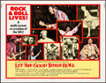 "Movie Posters:Rock and Roll, Let the Good Times Roll (Columbia, 1973). Rolled, Very Fine. HalfSheet (22"" X 28""). Rock and Roll.. ..."