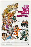 """Movie Posters:Comedy, The Gang That Couldn't Shoot Straight (MGM, 1971). Folded, VeryFine-. One Sheet (27"""" X 41"""") & Lobby Card Set of 8 (11"""" X 14...(Total: 9 Items)"""