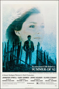 """Summer of '42 (Warner Brothers, 1971). Folded, Very Fine. One Sheet (27"""" X 41"""") & Lobby Card Set of 8..."""