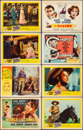 "Movie Posters:Sports, World in My Corner & Other Lot (Universal International, 1956). Fine/Very Fine. Title Lobby Cards (6) & Lobby Cards (7) (11""... (Total: 13 Items)"