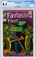 Silver Age (1956-1969):Superhero, Fantastic Four #37 (Marvel, 1965) CGC VF+ 8.5 Off-white to white pages....