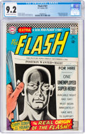 Silver Age (1956-1969):Superhero, The Flash #167 (DC, 1967) CGC NM- 9.2 Off-white to white pages....