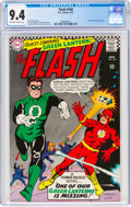 Silver Age (1956-1969):Superhero, The Flash #168 (DC, 1967) CGC NM 9.4 Off-white to white pages....