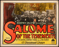 """Movie Posters:Romance, Salome of the Tenements (Paramount, 1925). Fine/Very Fine. TitleLobby Card (11"""" X 14""""). Romance.. ..."""