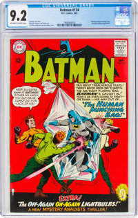 Batman #174 (DC, 1965) CGC NM- 9.2 Off-white to white pages
