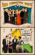 """Movie Posters:Crime, Silent Partner & Other Lot (Republic, 1944). Overall: Fine/VeryFine. Title Lobby Card & Lobby Card (11"""" X 14""""). Crime.. ...(Total: 2 Items)"""