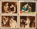 "Movie Posters:Drama, The World's Applause & Other Lot (Paramount, 1923). Overall: Fine/Very Fine. Lobby Cards (4) (11"" X 14""). Drama.. ... (Total: 4 Items)"