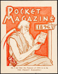 """Movie Posters:Miscellaneous, The Pocket Magazine (1896). Very Fine+. Newsstand Poster (11"""" X14""""). Miscellaneous.. ..."""