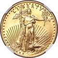 Modern Bullion Coins, 1995 $10 Quarter-Ounce Gold Eagle MS70 NGC....