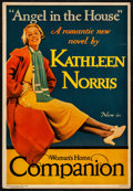 """Movie Posters:Miscellaneous, Woman's Home Companion - """"Angel in the House"""" by Kathleen Norris(1933). Very Fine-. Newsstand Poster (11"""" X 16""""). Miscellan..."""