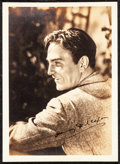 """Movie Posters:Miscellaneous, Henry Wilcoxon & Other Lot (Early 1940s). Very Fine.Autographed Fan Club Photos (2) & Fan Club Photo (Approx. 5"""" X7"""") with... (Total: 6 Items)"""