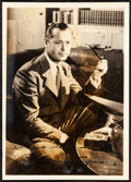 """Movie Posters:Miscellaneous, Robert Montgomery & Other Lot (MGM, Early 1940s). Very Fine+.Autographed Fan Club Photos (2) (5"""" X 7"""") with Original Studio...(Total: 4 Items)"""