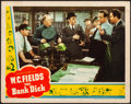 "Movie Posters:Comedy, The Bank Dick (Universal, 1940). Very Fine-. Lobby Card (11"" X14""). Comedy. From the Collection of Frank Buxton, ofwhich..."