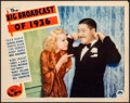 """Movie Posters:Musical, The Big Broadcast of 1936 (Paramount, 1935). Fine/Very Fine. LobbyCard (11"""" X 14""""). Musical. From the Collection of Frank..."""