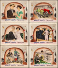 """Movie Posters:Comedy, The Brown Derby (First National, 1926). Very Fine-. Lobby Cards (6)(11"""" X 14""""). Comedy. From the Collection of Fr..."""