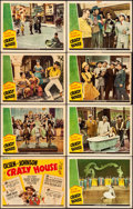 """Movie Posters:Comedy, Crazy House (Universal, 1943). Fine/Very Fine. Lobby Card Set of 8(11"""" X 14""""). Comedy. From the Collection of Fra..."""