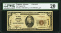 National Bank Notes:Arizona, Nogales, AZ - $20 1929 Ty. 1 The Nogales NB Ch. # 11012 PMG Very Fine 20.. ...