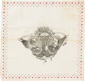 Political:Textile Display (1896-present), McKinley & Hobart: Most Unusual Jugate Bandana.. ...