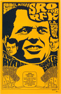 Political:Posters & Broadsides (1896-present), Robert F. Kennedy: Classic Concert Fundraiser Poster.. ...