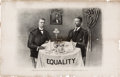 Political:Posters & Broadsides (1896-present), Theodore Roosevelt and Booker T. Washington: Iconic Equality Print. . ...