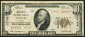 National Bank Notes, Dallas, TX - $10 1929 Ty. 2 Mercantile NB Ch. # 13743 Fine.. ...