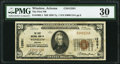 National Bank Notes:Arizona, Winslow, AZ - $20 1929 Ty. 1 The First NB Ch. # 12581 PMG Very Fine 30.. ...