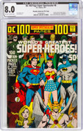 Bronze Age (1970-1979):Superhero, DC 100 Page Super Spectacular #6 Murphy Anderson File Copy (DC, 1971) CGC VF 8.0 Off-white to white pages....