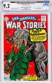 Star Spangled War Stories #125 Murphy Anderson File Copy (DC, 1966) CGC NM- 9.2 Off-white to white pages