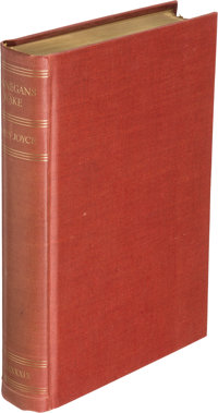 James Joyce. Finnegans Wake. London: Faber & Faber Limited; New York: The Viking Press, 1939. F