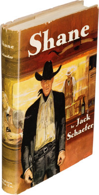 Jack Schaefer. Shane. Boston: Houghton Mifflin Company, 1949. First edition, in proof jacket