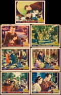 """Movie Posters:Adventure, Skull and Crown (Reliable, 1935). Fine. Lobby Cards (7) (11"""" X14""""). Adventure.. ... (Total: 7 Items)"""